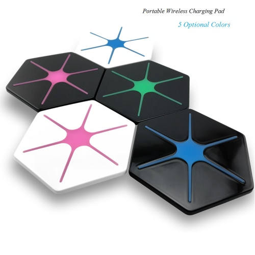 Portable New QI Wireless Charger Phone Universal Charging Base External Backup Charge Pad for Samsung Galaxy S6/S7/S6 Edge/S7 EdgeCellphone &amp; Accessories<br>Portable New QI Wireless Charger Phone Universal Charging Base External Backup Charge Pad for Samsung Galaxy S6/S7/S6 Edge/S7 Edge<br>