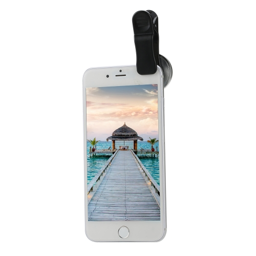 2 in 1 Universal Detachable Clip on Mobile Phone Lens 235 Degree Super Fish Eye + 20 X Macro Camera Lens for SmartphoneCellphone &amp; Accessories<br>2 in 1 Universal Detachable Clip on Mobile Phone Lens 235 Degree Super Fish Eye + 20 X Macro Camera Lens for Smartphone<br>