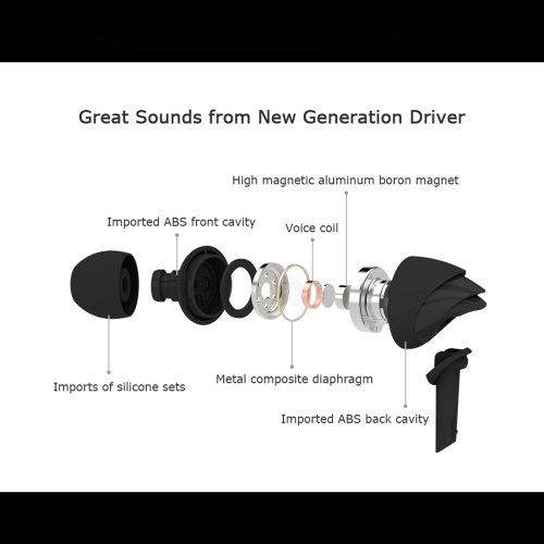 UiiSii C200 Hi-Fi Headphones Heavy Bass Stereo 3.5mm In-Ear Earphones Earbuds with MicrophoneCellphone &amp; Accessories<br>UiiSii C200 Hi-Fi Headphones Heavy Bass Stereo 3.5mm In-Ear Earphones Earbuds with Microphone<br>
