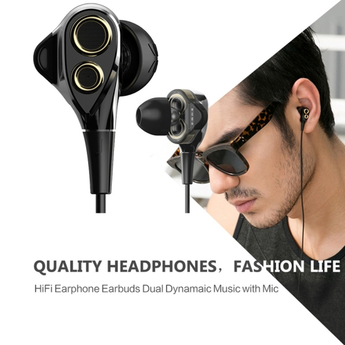 UiiSii T8 In-ear Stereo Earphones with Mic Dual Dynamic Driver Units Hi-Fi Earbuds Strong Bass Noise Reduction Volume Control HeadCellphone &amp; Accessories<br>UiiSii T8 In-ear Stereo Earphones with Mic Dual Dynamic Driver Units Hi-Fi Earbuds Strong Bass Noise Reduction Volume Control Head<br>