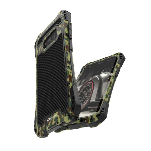 R-JUST AMIRA Series Metal Tri-proof Phone Case 360 Degree Full Protect Back Cover Protective Shell High Quality with Tempered GlasCellphone &amp; Accessories<br>R-JUST AMIRA Series Metal Tri-proof Phone Case 360 Degree Full Protect Back Cover Protective Shell High Quality with Tempered Glas<br>
