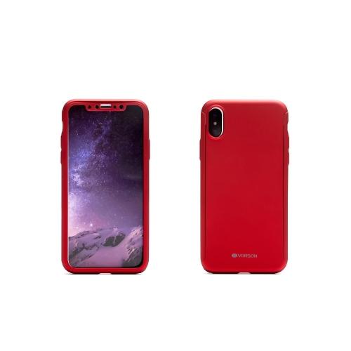 VORSON 360 degrés étui de protection complet avec film de protection pour iPhone X résistant aux rayures Anti-poussière anti-choc