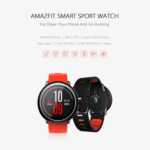 Xiaomi HUAMI AMAZFIT IP67 Smartwatch GPS Heart Rate [International Version]Cellphone &amp; Accessories<br>Xiaomi HUAMI AMAZFIT IP67 Smartwatch GPS Heart Rate [International Version]<br>