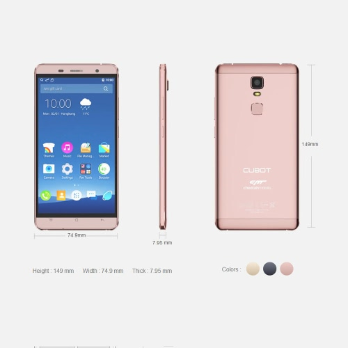 CUBOT Cheetah Smartphone 4G FDD-LTE 3G WCDMA Android 6.0 OS MTK6753A Octa Core 5.5 IPS FHD Screen 3GB RAM 32GB ROM 8MP 13MP DualCellphone &amp; Accessories<br>CUBOT Cheetah Smartphone 4G FDD-LTE 3G WCDMA Android 6.0 OS MTK6753A Octa Core 5.5 IPS FHD Screen 3GB RAM 32GB ROM 8MP 13MP Dual<br>