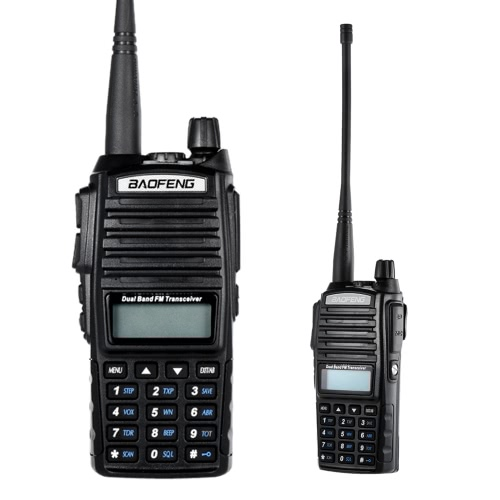 Original BAOFENG UV-82 VHF/UHF Dual Band Handheld Transceiver Interphone with LCD FM Radio Receiver 5W 128 Memory Channels CB RadiCellphone &amp; Accessories<br>Original BAOFENG UV-82 VHF/UHF Dual Band Handheld Transceiver Interphone with LCD FM Radio Receiver 5W 128 Memory Channels CB Radi<br>