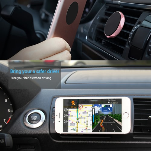 Mini Universal Air Vent Magnetic Car Mount Holder Mobile Phone Smartphone Dock GPS Stand for  iPhone 7 5s 6s Plus SamsungCellphone &amp; Accessories<br>Mini Universal Air Vent Magnetic Car Mount Holder Mobile Phone Smartphone Dock GPS Stand for  iPhone 7 5s 6s Plus Samsung<br>