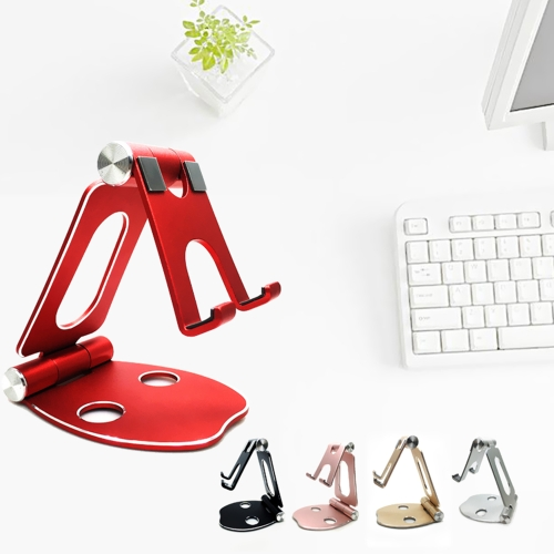 Universal Foldable Aluminum Stand Fully Adjustable Angle Scratch-free Cell Phone Desktop Cradle Holder Dock Bracket for SmartphoneCellphone &amp; Accessories<br>Universal Foldable Aluminum Stand Fully Adjustable Angle Scratch-free Cell Phone Desktop Cradle Holder Dock Bracket for Smartphone<br>
