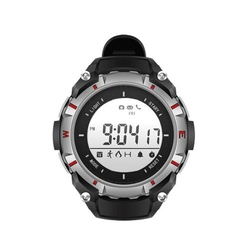 Orologio sportivo intelligente orologio da polso multifunzionale BT4.0 Smartwatch Supporto pedometro Fotocamera Remoter Chiama SMS Promemoria Sveglia per iOS Android Smart Phone