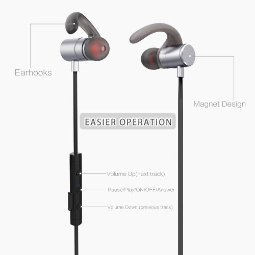 Fozento FT4 BT Earphone Wireless Business Sport Stereo Headphone Running Headset  Hands-free Pair/off/on Receive/Hang Music Play/PCellphone &amp; Accessories<br>Fozento FT4 BT Earphone Wireless Business Sport Stereo Headphone Running Headset  Hands-free Pair/off/on Receive/Hang Music Play/P<br>