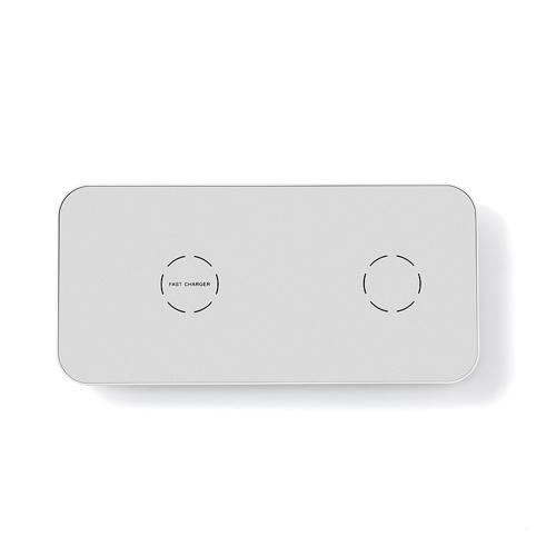 Chargeur sans fil N19 Ultra-Slim 2 en 1