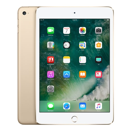 Apple iPad mini 4 Wi-Fi Only Tablet PC 7.9 inches 128GB  China Version (Refurbished)