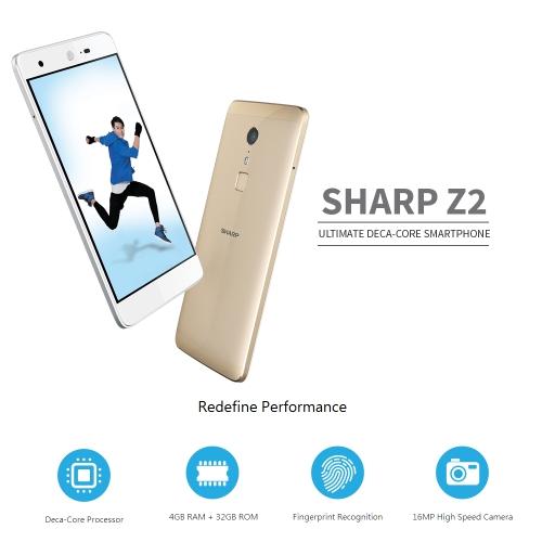 SHARP Z2 4G Smartphone 5.5 inches 4GB RAM 32GB ROMCellphone &amp; Accessories<br>SHARP Z2 4G Smartphone 5.5 inches 4GB RAM 32GB ROM<br>