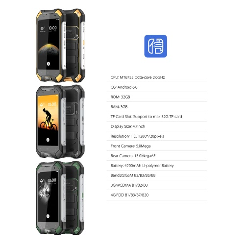 Blackview BV6000 4G Smartphone 4.7 inches 3GB+32GB IP68 WaterproofCellphone &amp; Accessories<br>Blackview BV6000 4G Smartphone 4.7 inches 3GB+32GB IP68 Waterproof<br>