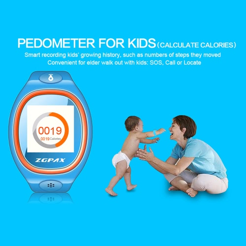 ZGPAX S866 Kids Tracking Watch Phone 2G Smart Watch MTK6260 1.2inch Screen for Android 2.0 IOS 4.0 Above Smartphone Kids PedometerCellphone &amp; Accessories<br>ZGPAX S866 Kids Tracking Watch Phone 2G Smart Watch MTK6260 1.2inch Screen for Android 2.0 IOS 4.0 Above Smartphone Kids Pedometer<br>