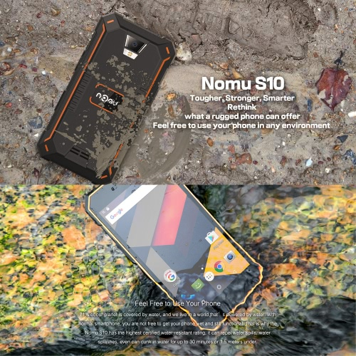 NOMU S10 IP68 Waterproof 4G Smartphone 5.0 InchesCellphone &amp; Accessories<br>NOMU S10 IP68 Waterproof 4G Smartphone 5.0 Inches<br>