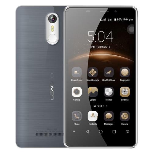 LEAGOO M8 Smartphone 3G WCDMA teléfono 5.7inch HD IPS pantalla 1280 * 720pixel MTK6580A Quad Core 1.3GHz CPU 2GB RAM 16GB ROM Freeme OS 6.0 Sistema 13.0MP + 8.0MP Cámaras 3500mAh Batería ID de huella digital Teléfono móvil GPS