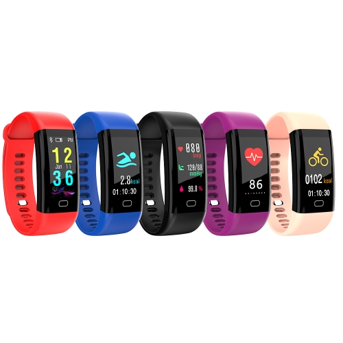 F07 IP68 Waterproof Color Screen Fitness Band Smart Bracelets Heart-rate BT Sport Wristband Calls Notification Activity Tracking SCellphone &amp; Accessories<br>F07 IP68 Waterproof Color Screen Fitness Band Smart Bracelets Heart-rate BT Sport Wristband Calls Notification Activity Tracking S<br>