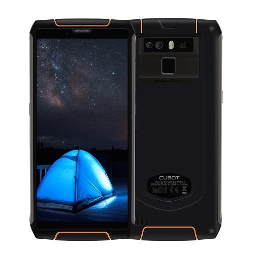 O rei Kong 3 Smartphone IP68 de Cubot Waterproof 6000mAh