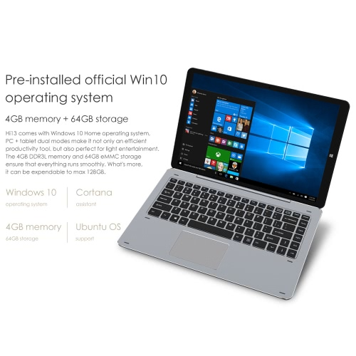 Chuwi Hi13 Windows10 Tablet PC 13.5 inches 4GB RAM 64GB ROMComputer &amp; Stationery<br>Chuwi Hi13 Windows10 Tablet PC 13.5 inches 4GB RAM 64GB ROM<br>