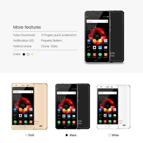 OUKITEL K4000 Plus Fingerprint Smartphone 4G FDD-LTE 3G WCDMA 5-Inch HD  2GB RAM+16GB ROMCellphone &amp; Accessories<br>OUKITEL K4000 Plus Fingerprint Smartphone 4G FDD-LTE 3G WCDMA 5-Inch HD  2GB RAM+16GB ROM<br>