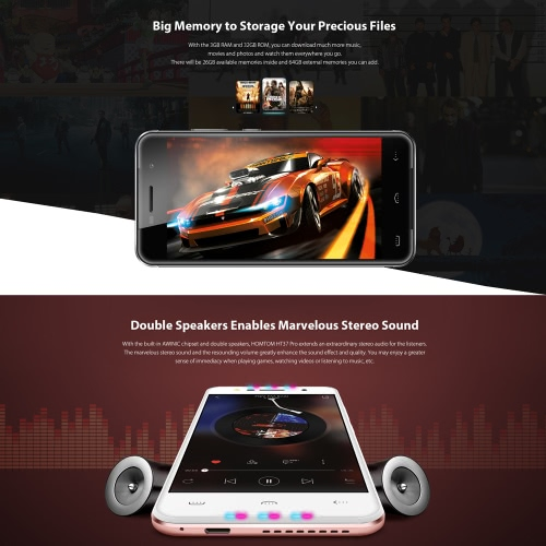 HOMTOM HT37 PRO 4G FDD-LTE Smartphone 5.0 inches3GB RAM 32GB ROMCellphone &amp; Accessories<br>HOMTOM HT37 PRO 4G FDD-LTE Smartphone 5.0 inches3GB RAM 32GB ROM<br>