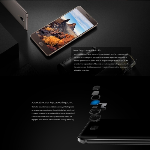 Elephone P8 4G Smartphone 5.5 inches 6GB RAM+64GB ROMCellphone &amp; Accessories<br>Elephone P8 4G Smartphone 5.5 inches 6GB RAM+64GB ROM<br>
