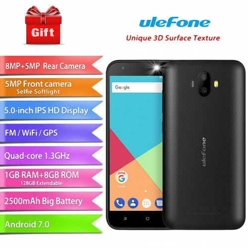 UleFone S7 Mobile Phone  1GB RAM+8GB ROMCellphone &amp; Accessories<br>UleFone S7 Mobile Phone  1GB RAM+8GB ROM<br>