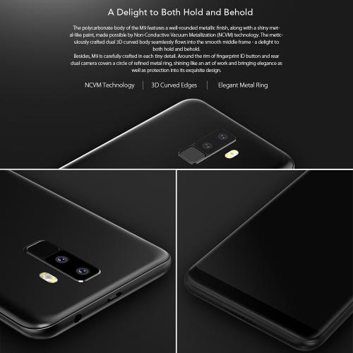 LEAGOO M9 Quad-Cam 18:9 Full Screen Mobile Phone Fingerprint 5.5-Inch HD  2GB+16GBCellphone &amp; Accessories<br>LEAGOO M9 Quad-Cam 18:9 Full Screen Mobile Phone Fingerprint 5.5-Inch HD  2GB+16GB<br>