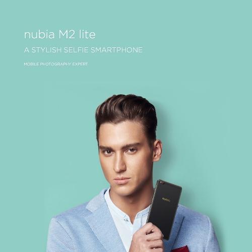 Nubia M2 Lite 4G Smartphone 5.5 Inches 3GB + 64GBCellphone &amp; Accessories<br>Nubia M2 Lite 4G Smartphone 5.5 Inches 3GB + 64GB<br>