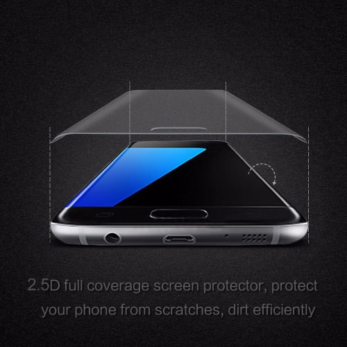 Arealer Full Screen Electroplating Tempered Glass Screen Protector Film Cover Curved Membrane Overall Protective Frame Arc Glass 9Cellphone &amp; Accessories<br>Arealer Full Screen Electroplating Tempered Glass Screen Protector Film Cover Curved Membrane Overall Protective Frame Arc Glass 9<br>