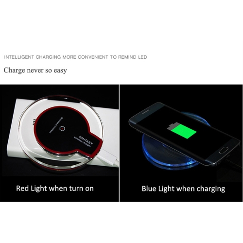 Wireless Charger Pad Crystal Samsung Apple Iphone Vehicle Transmitter QI standard TransparentCellphone &amp; Accessories<br>Wireless Charger Pad Crystal Samsung Apple Iphone Vehicle Transmitter QI standard Transparent<br>