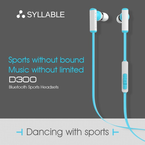 SYLLABLE D300 Sports Earphone Wireless Bluetooth Headphone Headset with Microphone Mini Wire Control for iPhone 6 6 Plus 6S 6S PluCellphone &amp; Accessories<br>SYLLABLE D300 Sports Earphone Wireless Bluetooth Headphone Headset with Microphone Mini Wire Control for iPhone 6 6 Plus 6S 6S Plu<br>