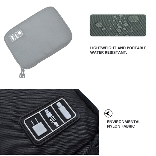 Portable Zipper Travel Storage Bag Organizers Mini Hard Drive Earphone Cables USB Flash Drives Phone Charge Case for Electronic AcCellphone &amp; Accessories<br>Portable Zipper Travel Storage Bag Organizers Mini Hard Drive Earphone Cables USB Flash Drives Phone Charge Case for Electronic Ac<br>
