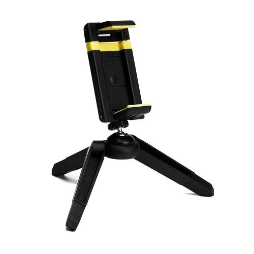 Recci desfrute RAM-A01 suporte do telefone de 360 ° de rotação tripé de telefone celular suporte para smartphone iphone x 8 6 samsung glaxy