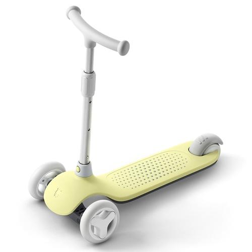 الأصلي xiaomi ميتو 3 عجلات ركلة سكوتر متعددة الأمن الحماية مزدوجة الربيع نظام التوجيه للأطفال 3-6 سنوات التوازن القديم سيارة سكيت
