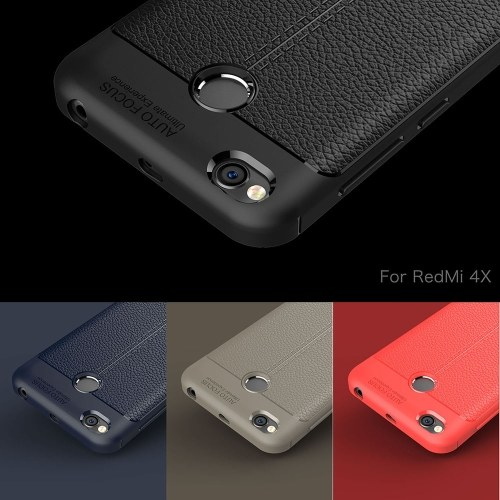 Phone Protective Case for Xiaomi Redmi 4X Cover 5inch Eco-friendly Stylish Portable Anti-scratch Anti-dust Durable