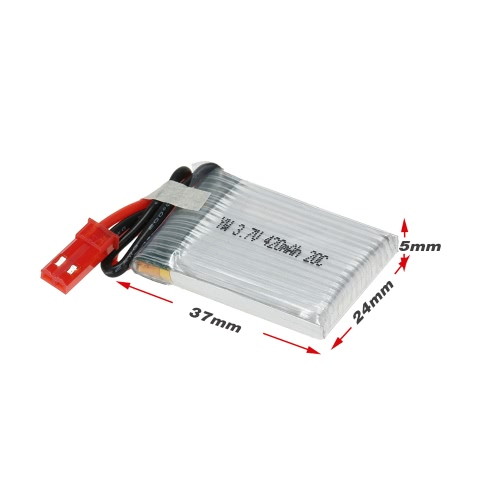 5Pcs 3.7V 420mAh 20C Lipo Battery Kit for JJRC H21 HuanQi 868 RC QuadcopterToys &amp; Hobbies<br>5Pcs 3.7V 420mAh 20C Lipo Battery Kit for JJRC H21 HuanQi 868 RC Quadcopter<br>
