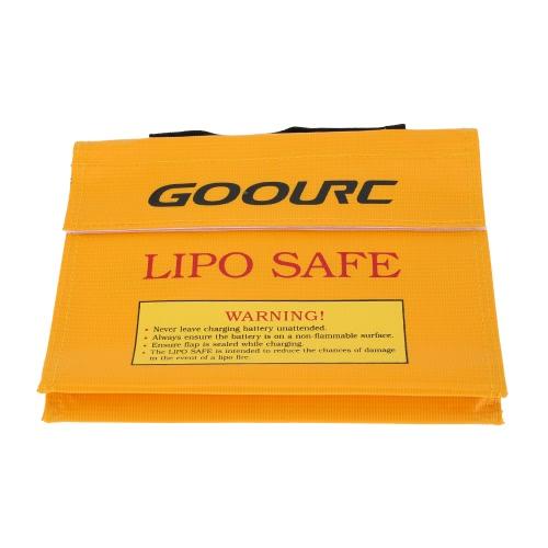 GoolRC 21.5 * 16.5 * 4.5cm Golden High Quality Glass Fiber RC LiPo Battery Safety Bag Safe Guard Charge SackToys &amp; Hobbies<br>GoolRC 21.5 * 16.5 * 4.5cm Golden High Quality Glass Fiber RC LiPo Battery Safety Bag Safe Guard Charge Sack<br>