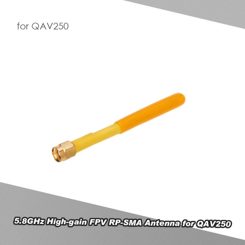 5.8GHz High-gain FPV RP-SMA Antenna for QAV250 FPV Racing Quadcopter DroneToys &amp; Hobbies<br>5.8GHz High-gain FPV RP-SMA Antenna for QAV250 FPV Racing Quadcopter Drone<br>