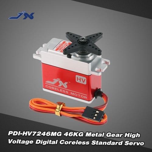 JX PDI-HV7246MG 46KG Metal Gear High Voltage Digital Coreless Standard Servo for RC Car 550-700 Airplane HelicopterToys &amp; Hobbies<br>JX PDI-HV7246MG 46KG Metal Gear High Voltage Digital Coreless Standard Servo for RC Car 550-700 Airplane Helicopter<br>
