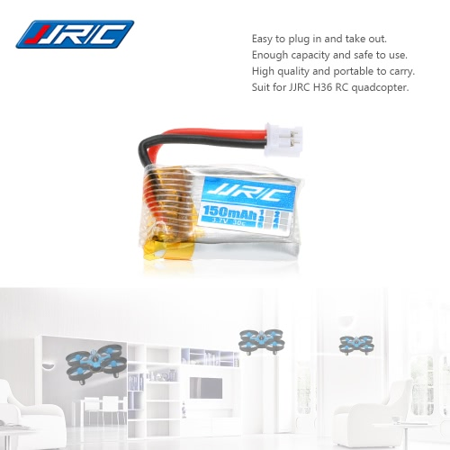 Original JJRC H36-004 3.7V 150mAh 30C Lipo Battery for JJRC H36 RC Drone QuadcopterToys &amp; Hobbies<br>Original JJRC H36-004 3.7V 150mAh 30C Lipo Battery for JJRC H36 RC Drone Quadcopter<br>