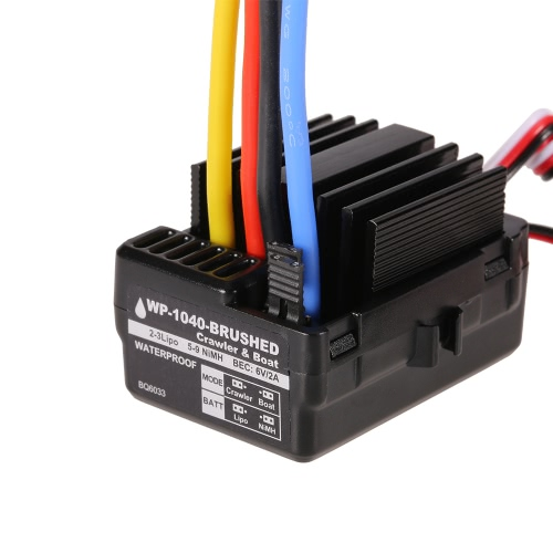 GoolRC 540 80T Brushed Motor with 40A ESC Combo for 1/10 Axial SCX10 RC4WD D90 RC Crawler CarToys &amp; Hobbies<br>GoolRC 540 80T Brushed Motor with 40A ESC Combo for 1/10 Axial SCX10 RC4WD D90 RC Crawler Car<br>