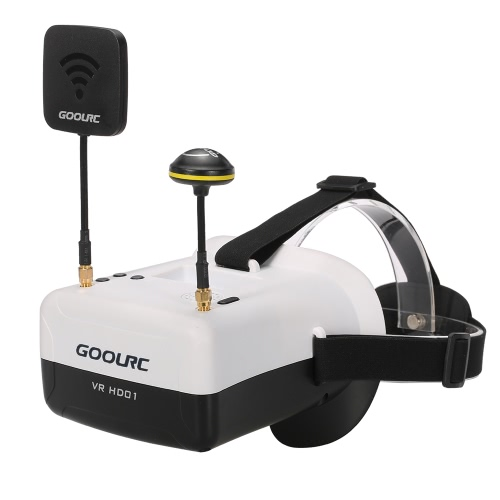 GoolRC VR HD01 Duo Antennas 4.3 Inch 5.8G 40CH FPV Goggles Auto Searching Video GlassesToys &amp; Hobbies<br>GoolRC VR HD01 Duo Antennas 4.3 Inch 5.8G 40CH FPV Goggles Auto Searching Video Glasses<br>