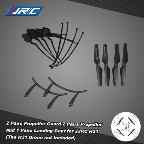 Original JJRC H31 Spare Part 2 Pairs Propeller 4 Pcs Propeller Guard and 1 Pair Landing Gear for JJRC H31 and GoolRC T6 RC QuadcopToys &amp; Hobbies<br>Original JJRC H31 Spare Part 2 Pairs Propeller 4 Pcs Propeller Guard and 1 Pair Landing Gear for JJRC H31 and GoolRC T6 RC Quadcop<br>