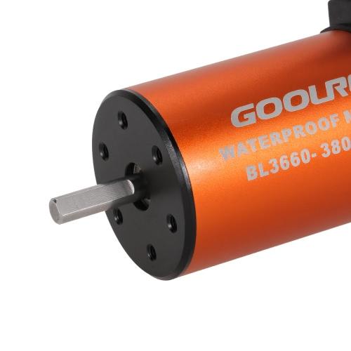 GoolRC 3660 3800KV Waterproof Brushless Motor for 1/10 RC Car Truck CrawlerToys &amp; Hobbies<br>GoolRC 3660 3800KV Waterproof Brushless Motor for 1/10 RC Car Truck Crawler<br>