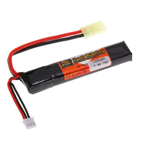 ZOP Power 2S 7.4V 1000mAh 20C LiPo Battery TAMIYA PlugToys &amp; Hobbies<br>ZOP Power 2S 7.4V 1000mAh 20C LiPo Battery TAMIYA Plug<br>