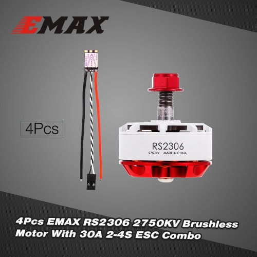 Original EMAX RS2306 2750KV White Race Special Edition Brushless Motor 30A ESC Combo For FPV RC QuadcopterToys &amp; Hobbies<br>Original EMAX RS2306 2750KV White Race Special Edition Brushless Motor 30A ESC Combo For FPV RC Quadcopter<br>