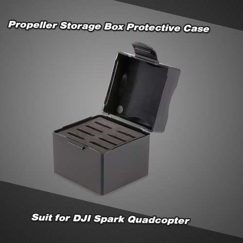 4730F Propeller Storage Box Protective Case for DJI Spark FPV Drone QuadcopterToys &amp; Hobbies<br>4730F Propeller Storage Box Protective Case for DJI Spark FPV Drone Quadcopter<br>