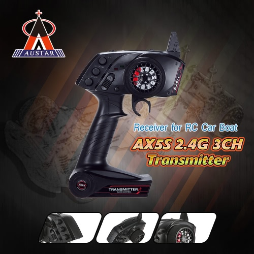 Original AUSTAR AX5S 2.4G 3CH AFHS  Radio Remote Control Transmitter with Receiver for RC Car BoatToys &amp; Hobbies<br>Original AUSTAR AX5S 2.4G 3CH AFHS  Radio Remote Control Transmitter with Receiver for RC Car Boat<br>