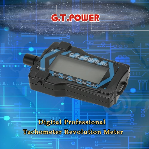 G.T.POWER RC Digital Professional Tachometer Revolution Meter for RC Aircraft Helicopter QuadcopterToys &amp; Hobbies<br>G.T.POWER RC Digital Professional Tachometer Revolution Meter for RC Aircraft Helicopter Quadcopter<br>